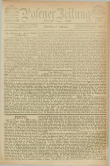 Posener Zeitung. Jg.100, Nr. 20 (9 Januar 1893) - Mittag=Ausgabe.