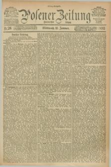 Posener Zeitung. Jg.100, Nr. 26 (11 Januar 1893) - Mittag=Ausgabe.