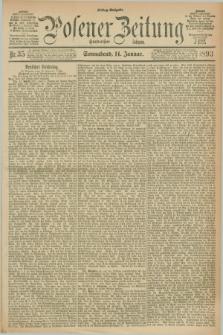 Posener Zeitung. Jg.100, Nr. 35 (14 Januar 1893) - Mittag=Ausgabe.