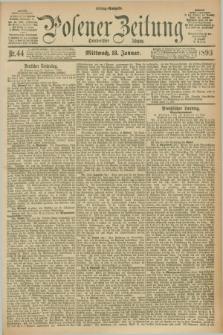 Posener Zeitung. Jg.100, Nr. 44 (18 Januar 1893) - Mittag=Ausgabe.