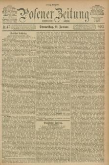 Posener Zeitung. Jg.100, Nr. 47 (19 Januar 1893) - Mittag=Ausgabe.
