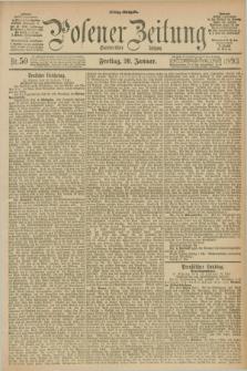 Posener Zeitung. Jg.100, Nr. 50 (20 Januar 1893) - Mittag=Ausgabe.