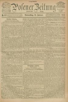 Posener Zeitung. Jg.100, Nr. 65 (26 Januar 1893) - Mittag=Ausgabe.