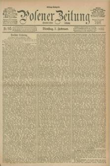Posener Zeitung. Jg.100, Nr. 95 (7 Februar 1893) - Mittag=Ausgabe.
