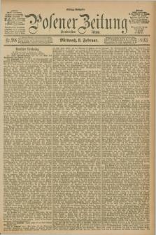 Posener Zeitung. Jg.100, Nr. 98 (8 Februar 1893) - Mittag=Ausgabe.
