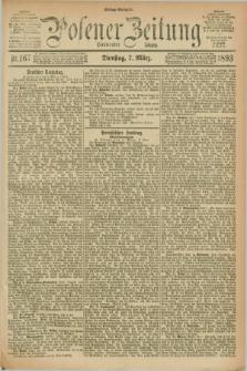 Posener Zeitung. Jg.100, Nr. 167 (7 März 1893) - Mittag=Ausgabe.