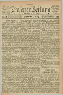 Posener Zeitung. Jg.100, Nr. 179 (11 März 1893) - Mittag=Ausgabe.