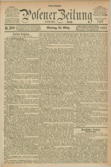 Posener Zeitung. Jg.100, Nr. 200 (20 März 1893) - Mittag=Ausgabe.