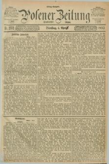 Posener Zeitung. Jg.100, Nr. 232 (4 April 1893) - Mittag=Ausgabe.