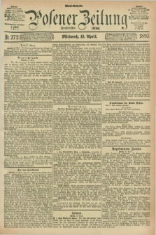 Posener Zeitung. Jg.100, Nr. 272 (19 April 1893) - Abend=Ausgabe.