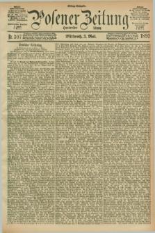 Posener Zeitung. Jg.100, Nr. 307 (3 Mai 1893) - Mittag=Ausgabe.