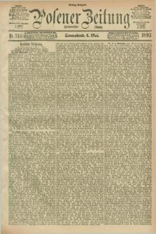Posener Zeitung. Jg.100, Nr. 316 (6 Mai 1893) - Mittag=Ausgabe.