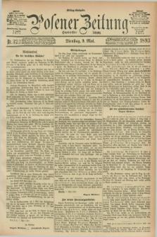 Posener Zeitung. Jg.100, Nr. 322 (9 Mai 1893) - Mittag=Ausgabe.