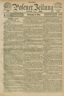 Posener Zeitung. Jg.100, Nr. 325 (10 Mai 1893) - Mittag=Ausgabe.