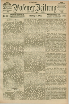 Posener Zeitung. Jg.100, Nr. 328 (12 Mai 1893) - Mittag=Ausgabe.