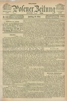 Posener Zeitung. Jg.100, Nr. 346 (19 Mai 1893) - Mittag=Ausgabe.