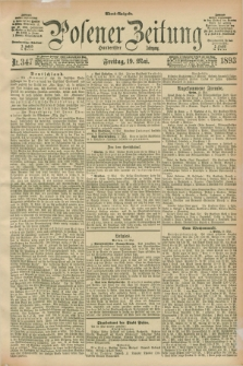Posener Zeitung. Jg.100, Nr. 347 (19 Mai 1893) - Abend=Ausgabe.