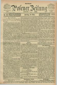 Posener Zeitung. Jg.100, Nr. 361 (26 Mai 1893) - Abend=Ausgabe.