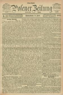 Posener Zeitung. Jg.100, Nr. 381 (3 Juni 1893) - Mittag=Ausgabe.