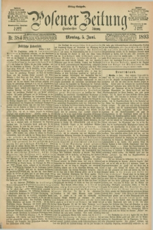 Posener Zeitung. Jg.100, Nr. 384 (5 Juni 1893) - Mittag=Ausgabe.