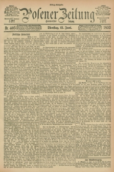 Posener Zeitung. Jg.100, Nr. 405 (13 Juni 1893) - Mittag=Ausgabe.