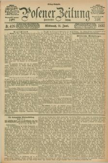 Posener Zeitung. Jg.100, Nr. 426 (21 Juni 1893) - Mittag=Ausgabe.