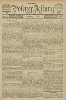 Posener Zeitung. Jg.100, Nr. 432 (23 Juni 1893) - Mittag=Ausgabe.