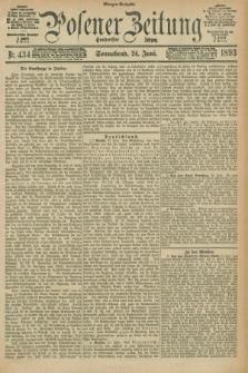 Posener Zeitung. Jg.100, Nr. 434 (24 Juni 1893) - Morgen=Ausgabe. + dod.