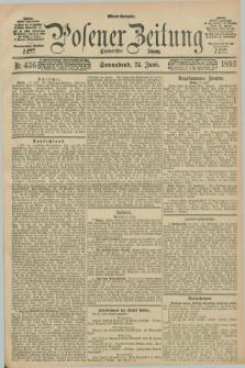 Posener Zeitung. Jg.100, Nr. 436 (24 Juni 1893) - Abend=Ausgabe.