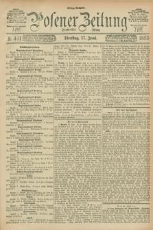 Posener Zeitung. Jg.100, Nr. 441 (27 Juni 1893) - Mittag=Ausgabe.