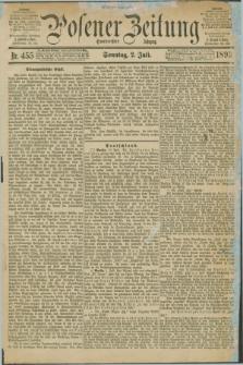 Posener Zeitung. Jg.100, Nr. 455 (2 Juli 1893) - Morgen=Ausgabe. + dod.