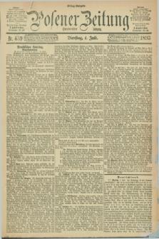 Posener Zeitung. Jg.100, Nr. 459 (4 Juli 1893) - Mittag=Ausgabe.
