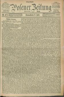 Posener Zeitung. Jg.100, Nr. 471 (8 Juli 1893) - Mittag=Ausgabe.