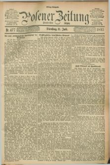 Posener Zeitung. Jg.100, Nr. 477 (11 Juli 1893) - Mittag=Ausgabe.