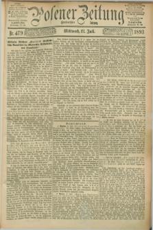 Posener Zeitung. Jg.100, Nr. 479 (12 Juli 1893) - [Morgen=Ausgabe.] + dod.