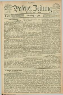 Posener Zeitung. Jg.100, Nr. 483 (13 Juli 1893) - Mittag=Ausgabe.