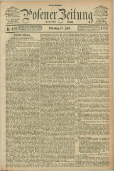 Posener Zeitung. Jg.100, Nr. 492 (17 Juli 1893) - Mittag=Ausgabe.