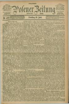 Posener Zeitung. Jg.100, Nr. 495 (18 Juli 1893) - Mittag=Ausgabe.