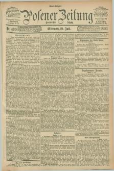 Posener Zeitung. Jg.100, Nr. 499 (19 Juli 1893) - Abend=Ausgabe.