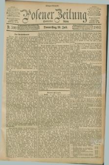 Posener Zeitung. Jg.100, Nr. 500 (20 Juli 1893) - Morgen=Ausgabe. + dod.