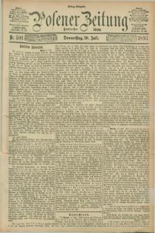 Posener Zeitung. Jg.100, Nr. 501 (20 Juli 1893) - Mittag=Ausgabe.