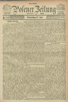 Posener Zeitung. Jg.100, Nr. 519 (27 Juli 1893) - Mittag=Ausgabe.