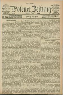 Posener Zeitung. Jg.100, Nr. 522 (28 Juli 1893) - Mittag=Ausgabe.
