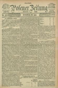 Posener Zeitung. Jg.100, Nr. 525 (29 Juli 1893) - Mittag=Ausgabe.