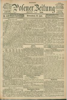 Posener Zeitung. Jg.100, Nr. 526 (29 Juli 1893) - Abend=Ausgabe.
