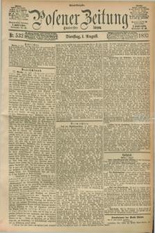 Posener Zeitung. Jg.100, Nr. 532 (1 August 1893) - Abend=Ausgabe.