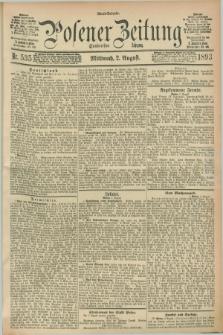 Posener Zeitung. Jg.100, Nr. 535 (2 August 1893) - Abend=Ausgabe.