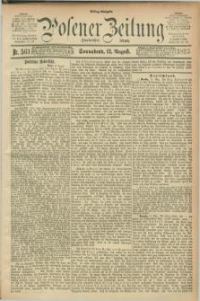 Posener Zeitung. Jg.100, Nr. 561 (12 August 1893) - Mittag=Ausgabe.