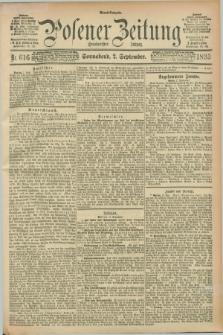 Posener Zeitung. Jg.100, Nr. 616 (2 September 1893) - Abend=Ausgabe.