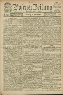 Posener Zeitung. Jg.100, Nr. 622 (5 September 1893) - Abend=Ausgabe.